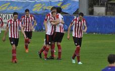 Tudelano, primera estación del Bilbao Athletic 2.0