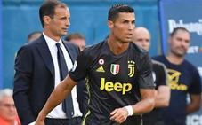Allegri planea rotar a Cristiano como hizo Zidane