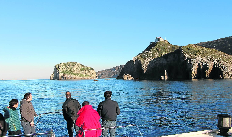 La costa vasca en barco