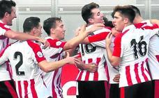 El talento de Sancet enseña el camino al Bilbao Athletic