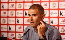Garitano: «Villalibre y Sancet han estado muy implicados»