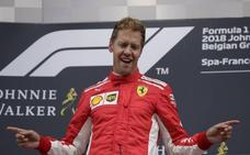 Revés de Vettel a Hamilton en Spa