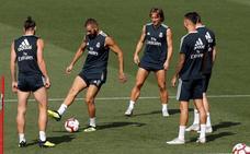 Bale y Benzema se liberan sin Cristiano