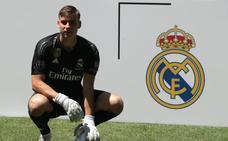 El Madrid cede a Lunin al Leganés