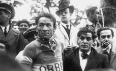 Cuando los ciclistas iban «desnudos»