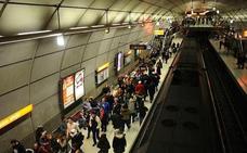 El metro registra 2,2 millonesde desplazamientos en Aste Nagusia, 20.000 más que en 2017