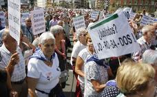 El gasto mensual de las pensiones en Euskadi crece en 33 millones