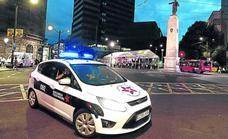 Del Hierro asume que los policías más altos no pueden usar los nuevos coches patrulla