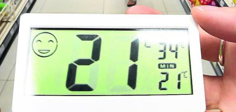 La locura del mercurio: ¿qué diferencia de temperatura hay entre la calle y las tiendas?