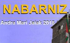 Programa de fiestas Nabarniz 2018: Andra Mari