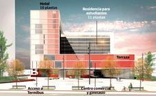 La residencia estudiantil que se levantará sobre Termibus abrirá en verano de 2020