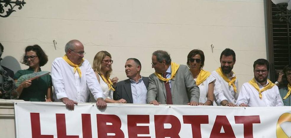 Enfrentamiento en Cataluña