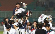 Heung-min Son y sus compañeros se libran del servicio militar