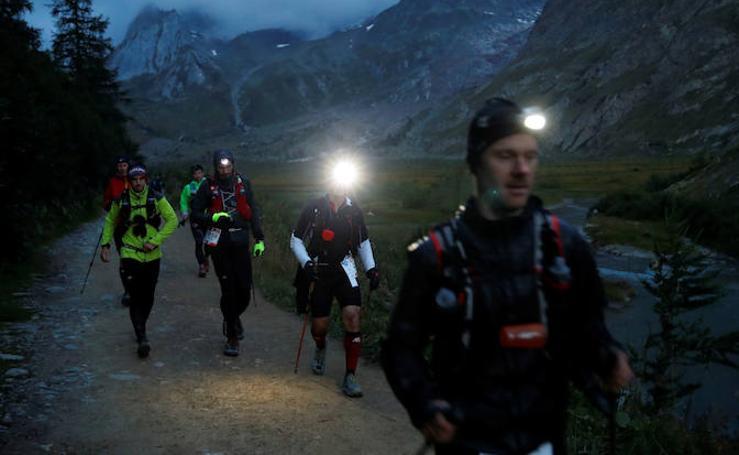 La increíble Ultra Trail del Mont Blanc