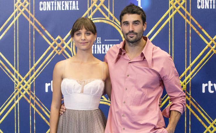 Los actores de «El Continental» posan en el FesTVal