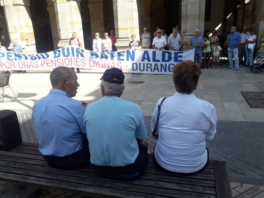 Intensificarán las protestas en Durango por unas pensiones dignas