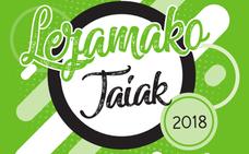 Programa de fiestas de Lezama 2018: San Antolín, Andra Mari y De La Cruz