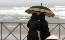 Euskadi activa el aviso amarillo por lluvias e incluso granizo