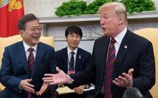 Trump y Moon se verán este mes en Nueva York para hablar de Corea del Norte