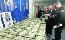 58 años de cárcel para nueve narcos por desembarcar 286 kilos de coca en Getxo
