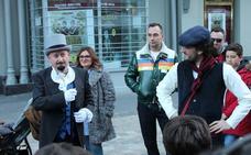 Don Fernando conoce la historia de Logroño
