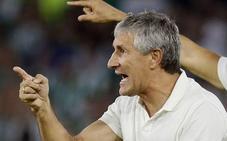 Quique Setién: «Es difícil de llevar la pasión de Sevilla»