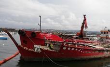 Polémica en Santurtzi por el desguace de un barco vinculado a Denokinn