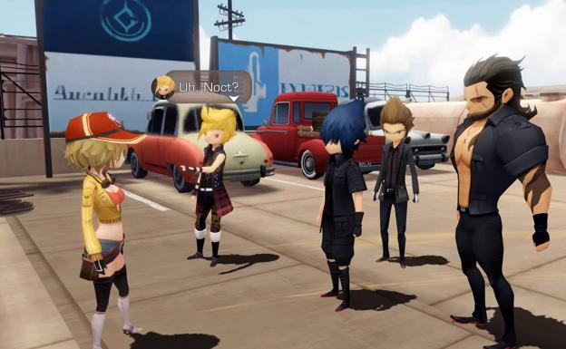 Final Fantasy XV: Pocket Edition /Square Enix