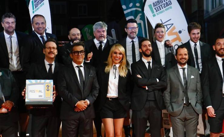 El humor se viste de corto a su paso por el FesTVal de Vitoria