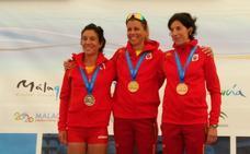 Iraia García, plata en el Campeonato del Mundo Máster: «Aún no me lo creo»