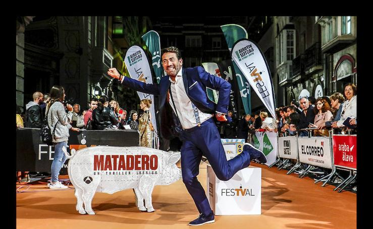 La alfombra naranja del FesTVal se despide con 'Matadero'