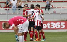 Villalibre se reencuentra con el gol y Vicente se gusta ante el Amorebieta