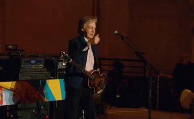 Paul McCartney presenta su nuevo álbum en un concierto sorpresa en Nueva York
