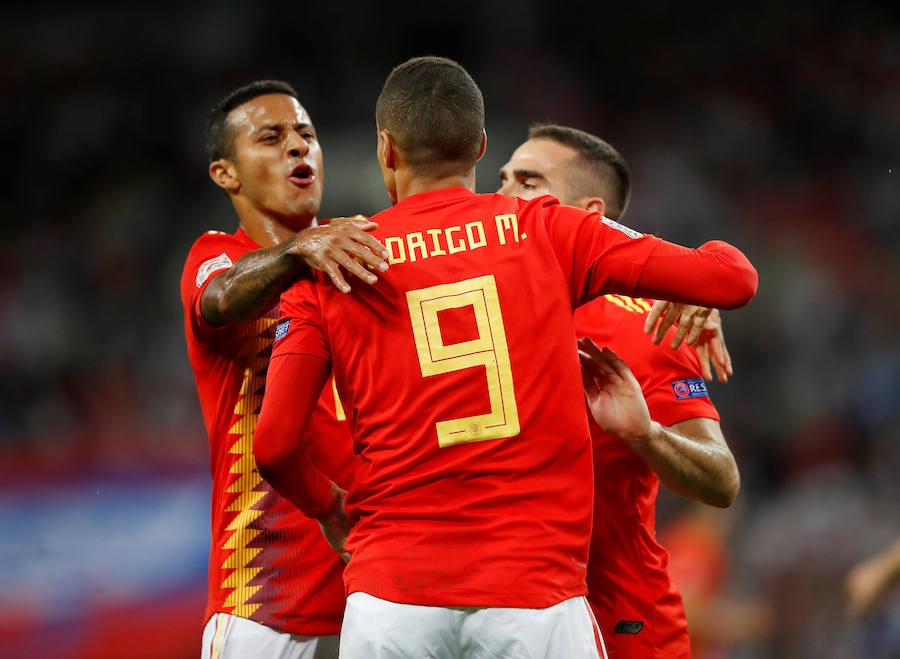 Las mejores imágenes del Inglaterra-España
