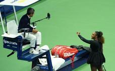 Serena Williams pierde la final del US Open y llama «ladrón y mentiroso» al juez de silla