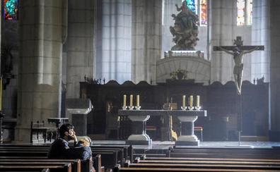 La Catedral Vieja, cerrada por rodaje