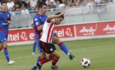 Jon Aurtenetxe, un goleador inesperado en Lezama