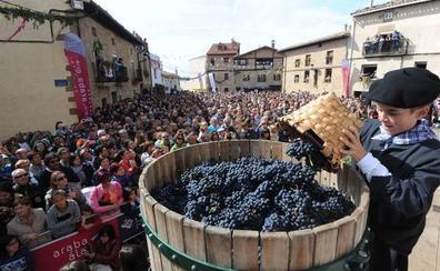 Vino con bertsos en la Fiesta de la Vendimia de Rioja Alavesa