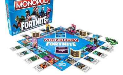 Fortnite sale de las pantallas y tendrá un Monopoly, figuras y pistolas Nerf
