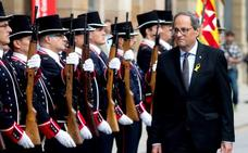 Torra promete en vísperas de una Diada fracturada «hacer efectiva la república»