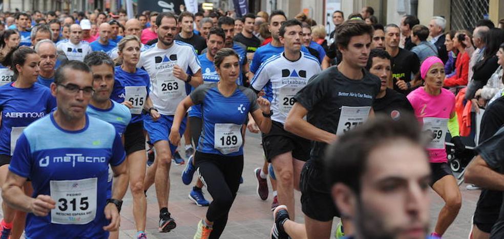 Vitoria acogerá el 6 de octubre la Carrera de Empresas