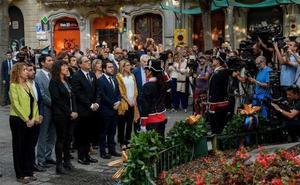 La división marca el inicio de la Diada más política