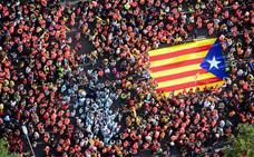 El independentismo catalán saca músculo y mete máxima presión al juicio del 'procés'