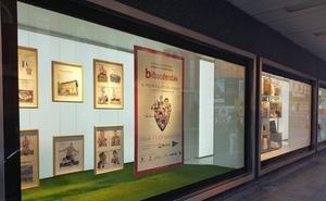 La pasión por el Athletic recorre los escaparates de Bilbao
