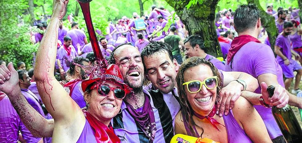 La Batalla del Vino, candidata al título de Mejor Fiesta de España