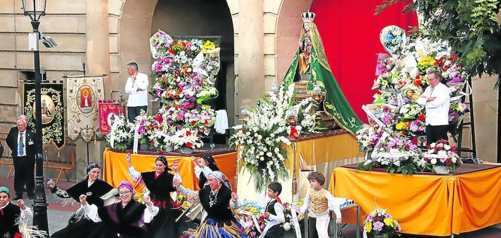 Altamira se llena de flores