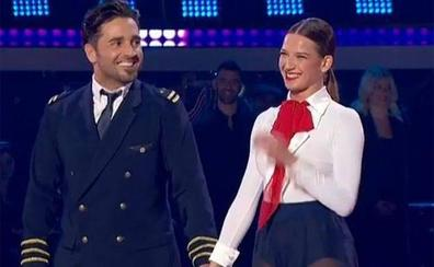 David Bustamante, con Yana Olina