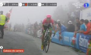 La Vuelta en directo: la fuga rueda hacia el Balcón de Bizkaia
