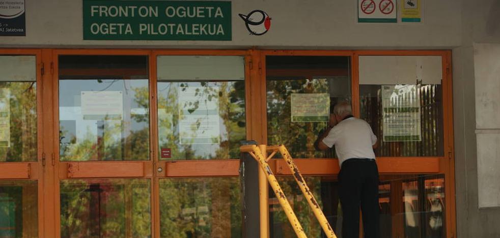 Vitoria reabrirá los frontones «en unos días» tras las críticas de federaciones y usuarios