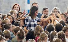 La reina Letizia preside en Oviedo la apertura del curso escolar